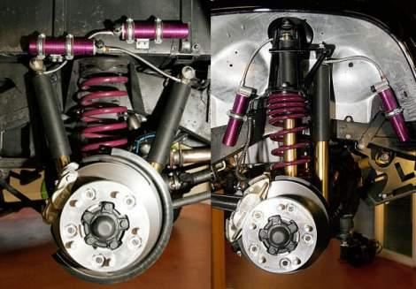 Rallye Kit, Montagesatz für Doppelstoßdämpfer – Defender