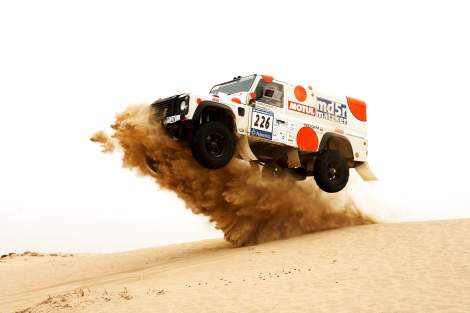 Leistungssteigerung RS-Rallye – Defender Td5