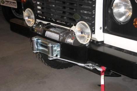 Hella-Fernscheinwerfer, 160 mm – Defender