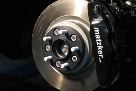 Verstärkte Bremsanlage – Range Rover Sport (bis MJ 2009)