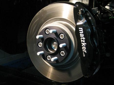 Verstärkte Brembo-Bremsanlage – Discovery 4 (ab MJ 2010)