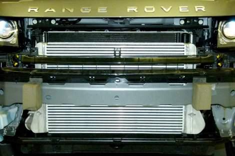 Hochleistungs-Ladeluftkühler – Range Rover Evoque TD4, SD4