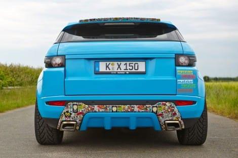 Dynamic-Heck – Range Rover Evoque