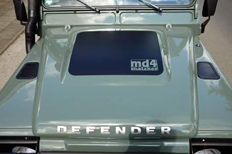 md4-Dekor Motorhaube