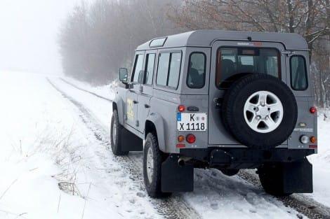 Winterradsatz auf Leichtmetall-Felge – Defender
