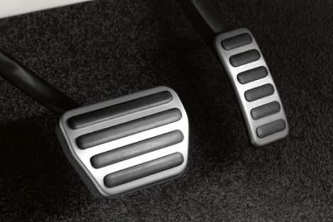 Pedalerie in Chromoptik – Range Rover