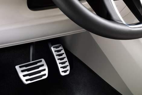 Pedalerie in Chromoptik – Range Rover Sport (ab MJ 2013)