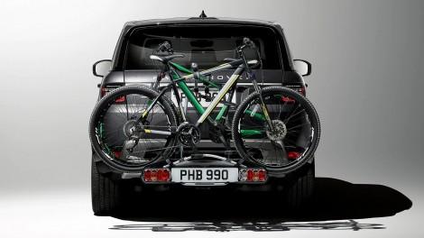 Fahrrad-Heckträger für Anhängerkupplung
