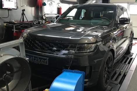 Leistungssteigerung TR6 – Range Rover Sport TDV6