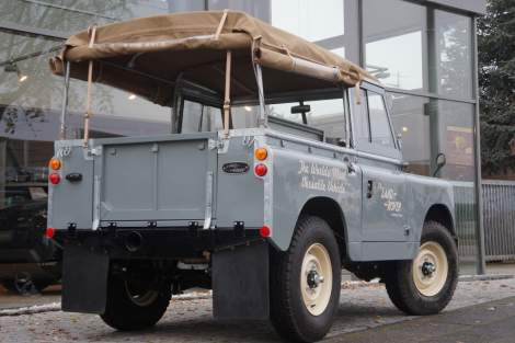 Land Rover 88 Serie II 2.2i Soft Top