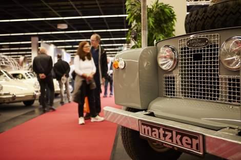 Matzker auf der Weltmesse Techno Classica