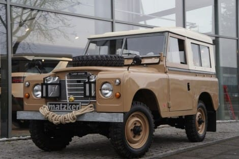 Land Rover 88 Serie III 2.25 Hard Top