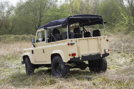Soft Top-Umbau – Defender 90
