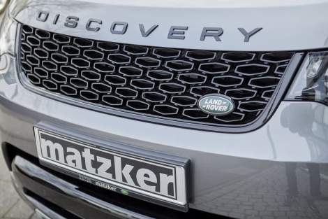 Dynamic-Kühlergrill, Narvik Black – Discovery 5