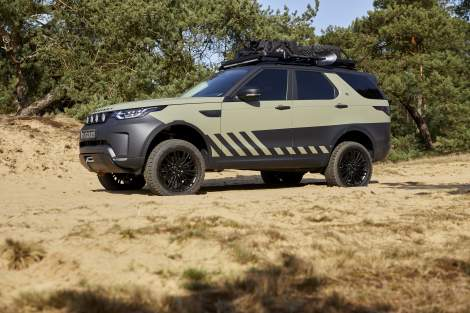 Electronic Handling und Offroad Kit – Discovery 5