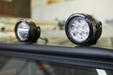 LED-Dachscheinwerfer, 120 mm – Defender