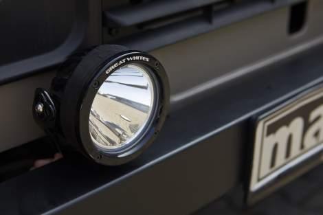 LED-Fernscheinwerfer, 120 mm – Defender
