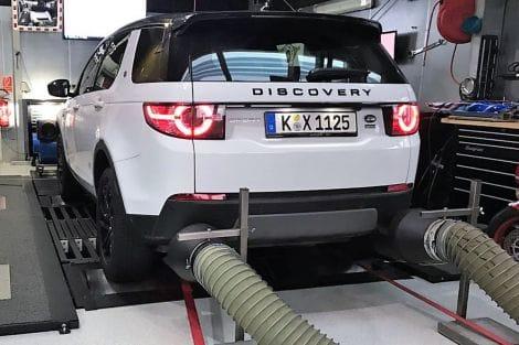 Leistungssteigerung TX4 – Discovery Sport TD4