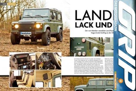 Grip Magazin: Landie in Lack und Leder