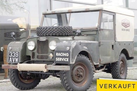 "Land Rover 86 Series I  ""RACING SERVICE"""