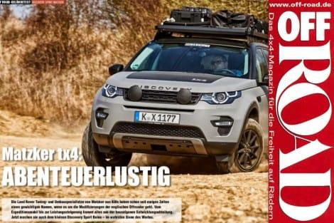 OffRoad: Matzker tx4 Abenteuerlustig