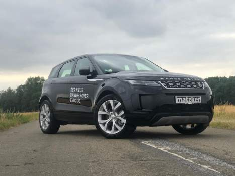 Sport Suspension Tieferlegung – New Range Rover Evoque