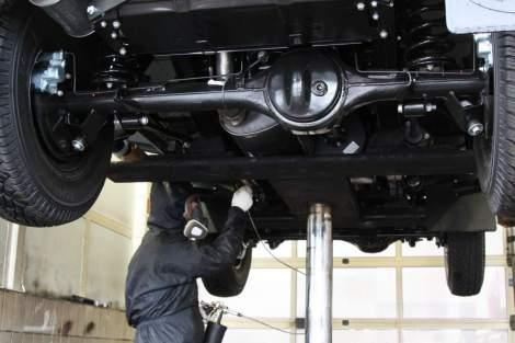 Unterbodenschutz – Range Rover Classic