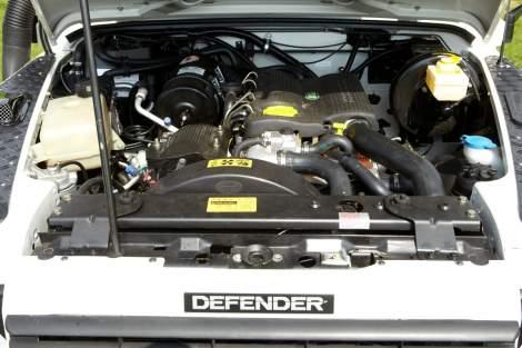 Leistungssteigerung TR1 – Defender TDI