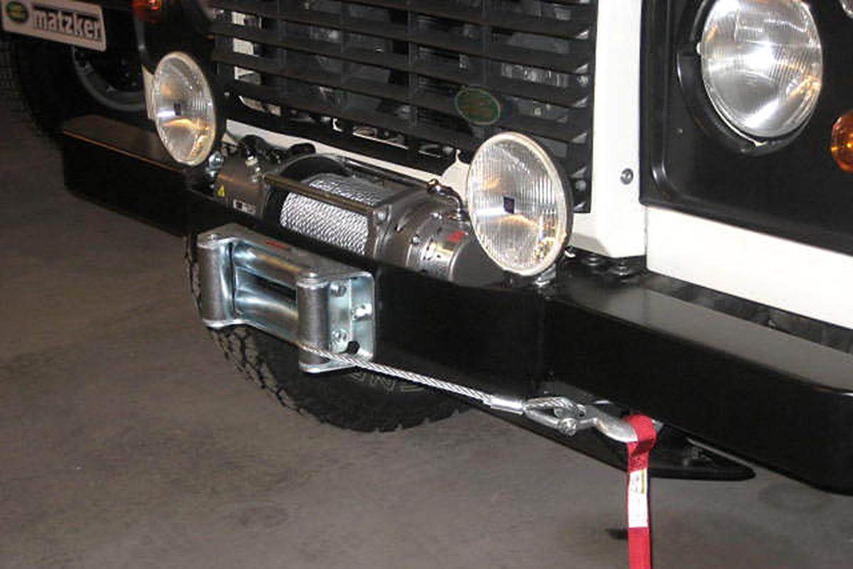 Bosch-Nebelleuchten, 160 mm – Defender
