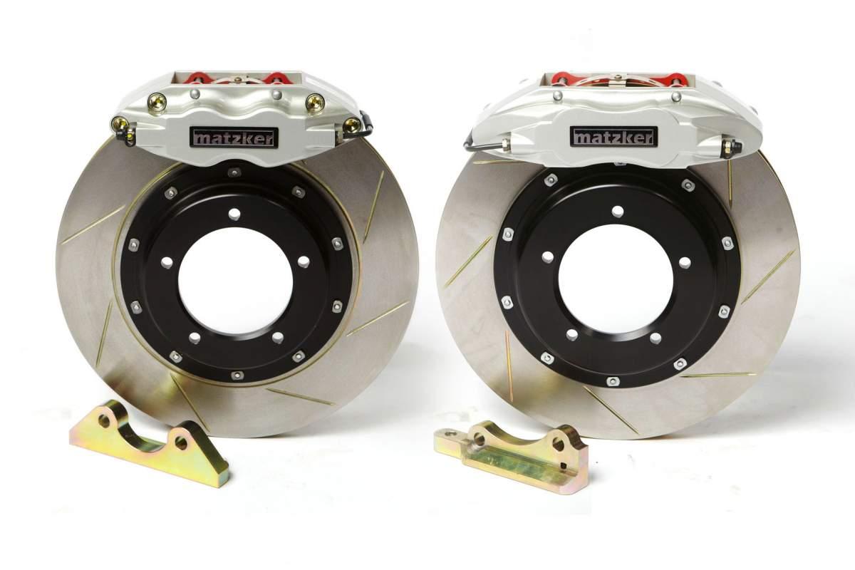 Hochleistungs-Bremsanlage, Vorder- und Hinterachse