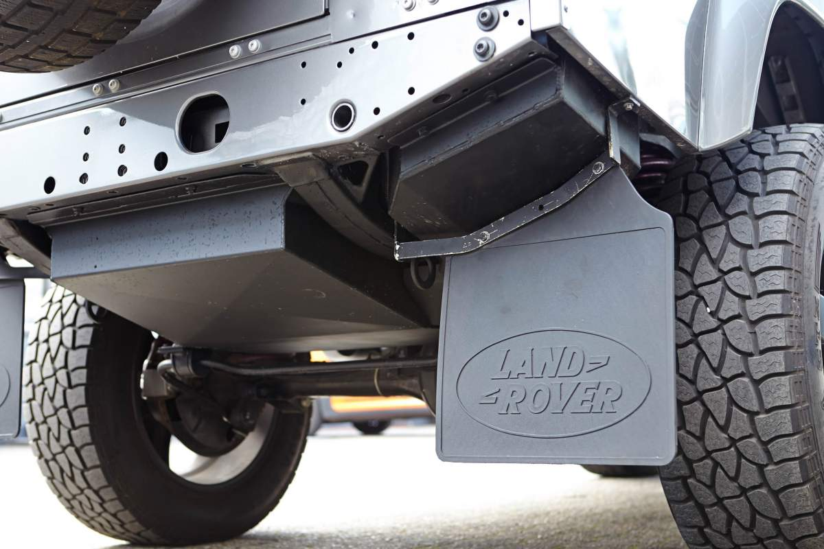 Longrange-Zusatztank – Defender 110
