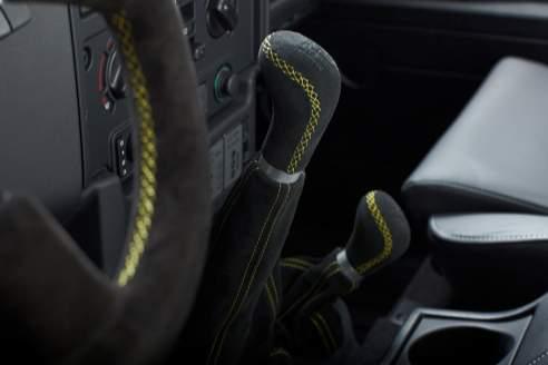 Schaltknauf-Garnitur Rallye – Defender