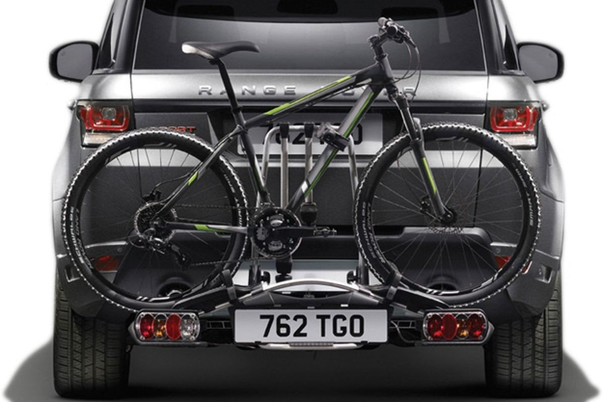 Fahrrad-Heckträger für vier Fahrräder