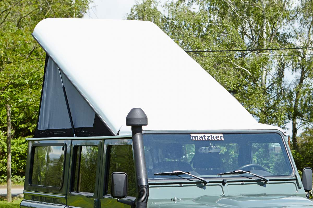 Carbon-Aufstelldach Touring – Defender