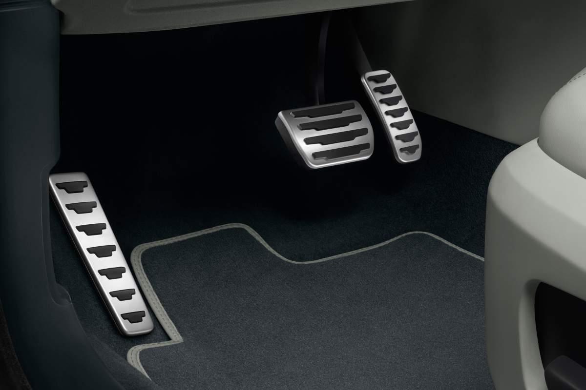 LM-Pedalaufsätze (Automatikgetriebe) – Discovery Sport