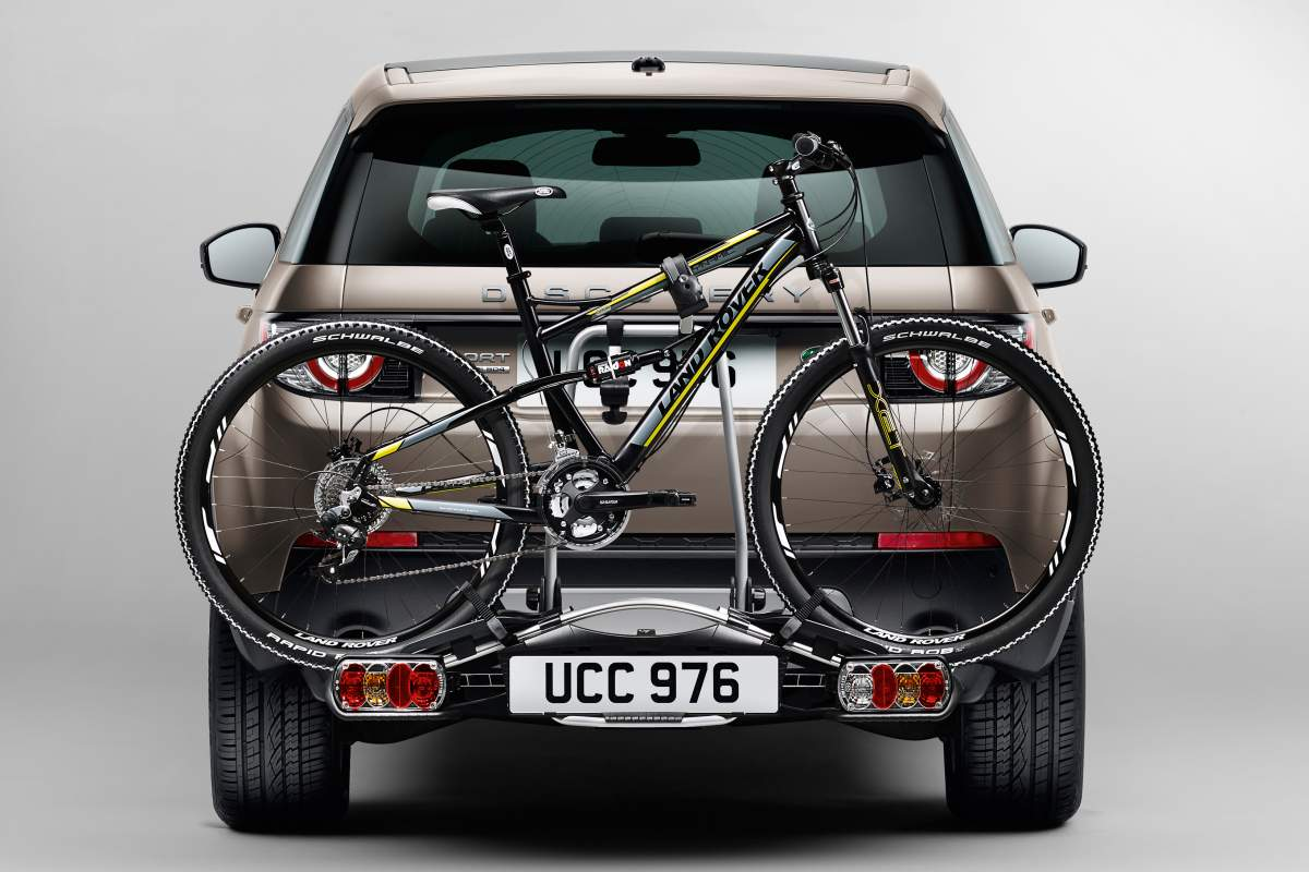 Fahrrad-Heckträger für AHK – Discovery Sport