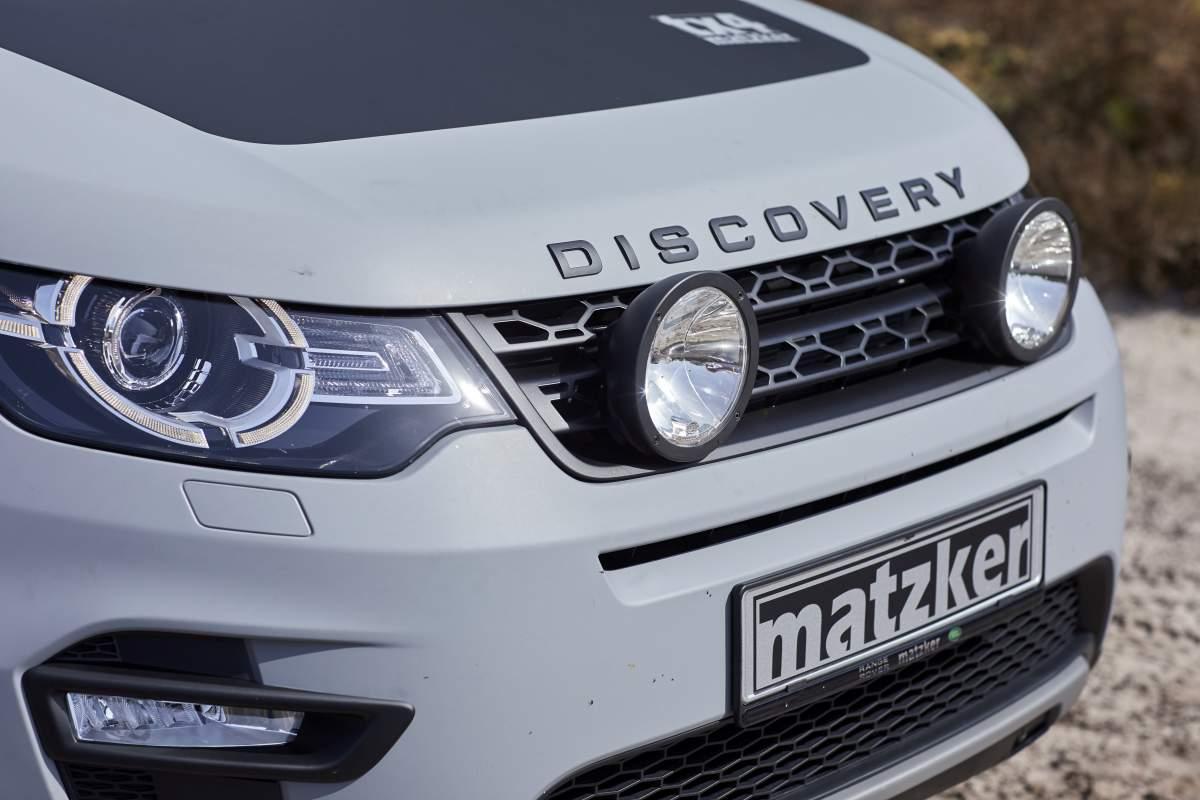 Hella-Fernscheinwerfer – Discovery Sport