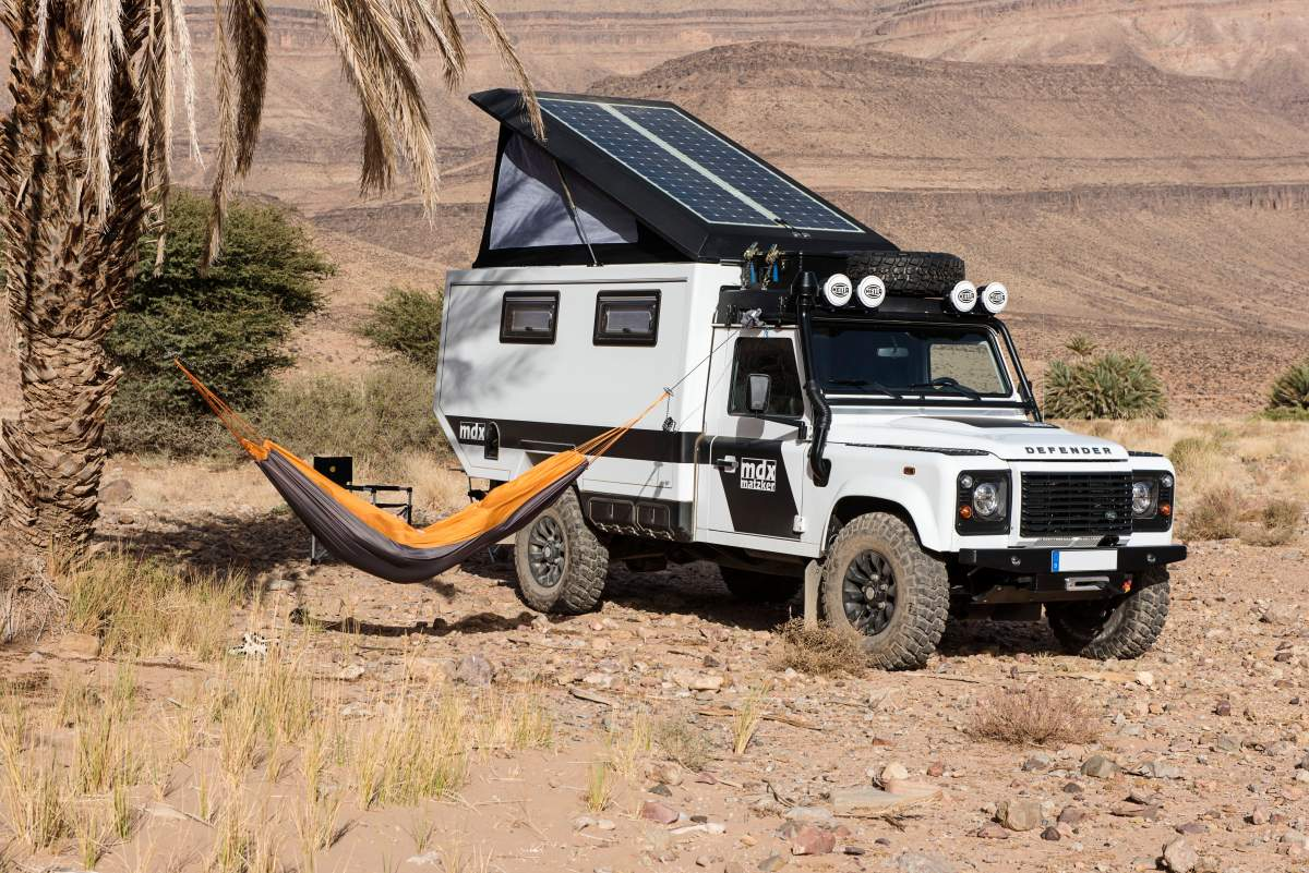 Mit dem Matzker mdx durch Marokko