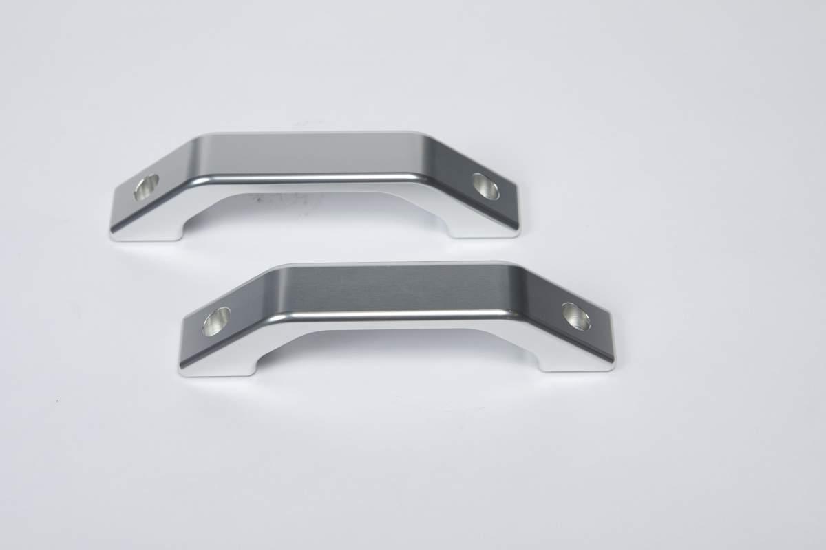 Innenseitige Aluminium-Türgriffe, silber – Defender