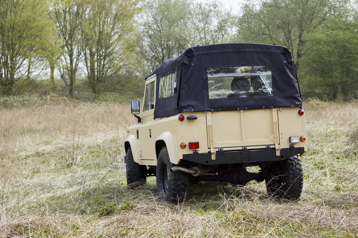 Soft Top-Umbau – Defender 90