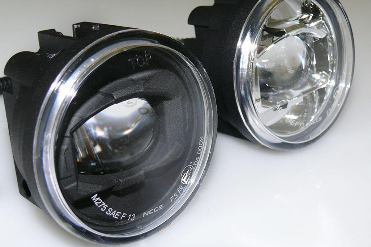 Integrierte LED-Nebelscheinwerfer, 70 mm – Defender