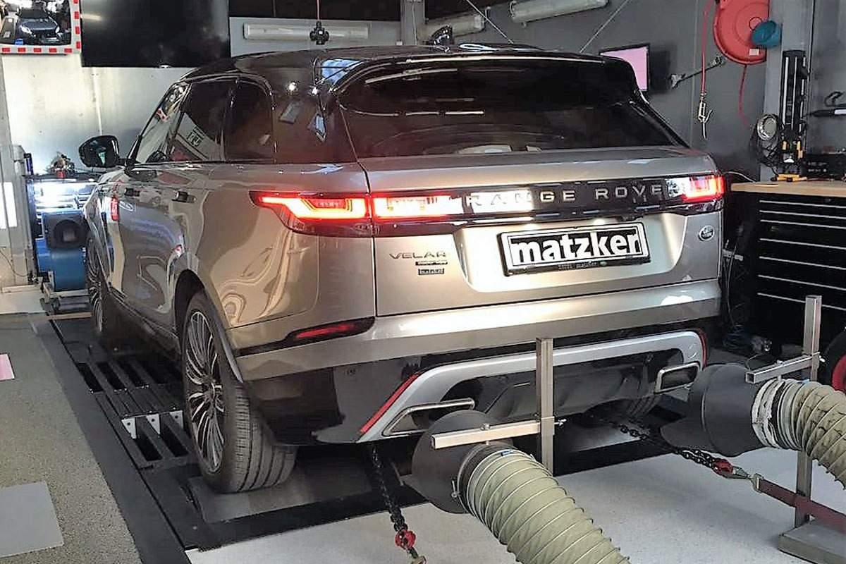 Leistungssteigerung TX4 – Range Rover Velar
