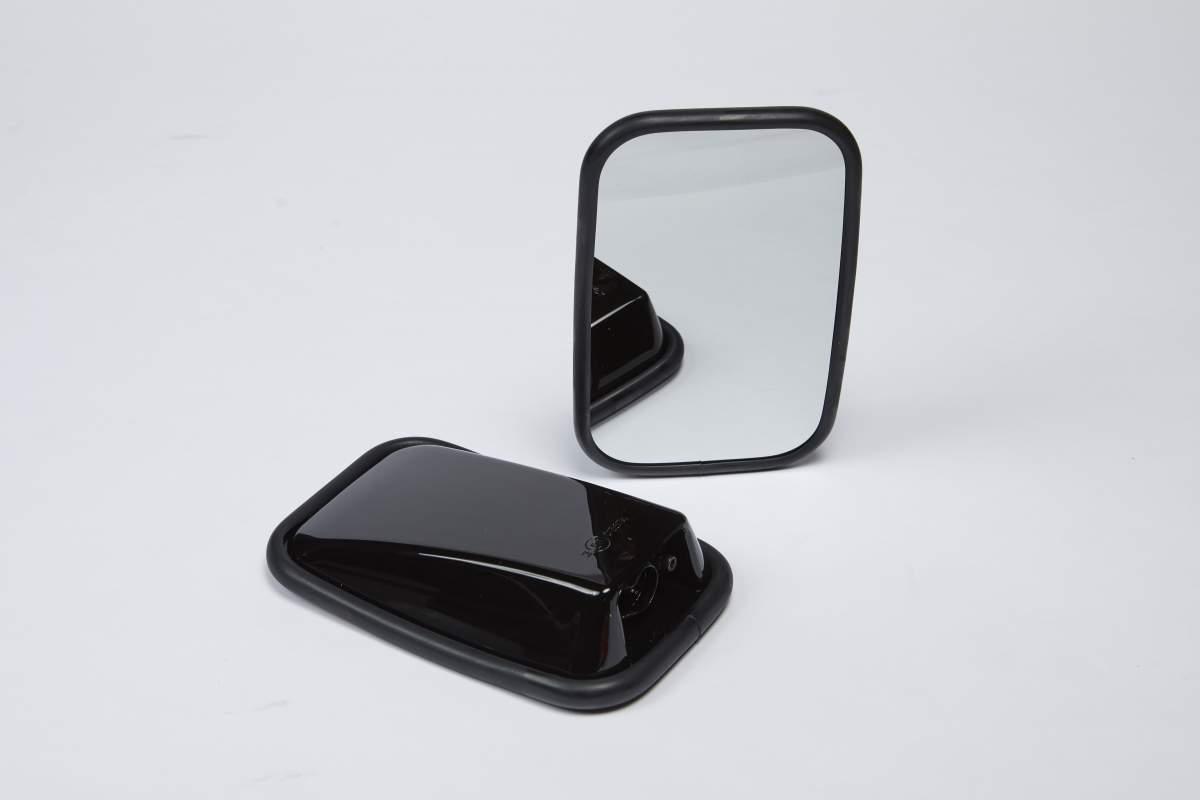 Premium-Außenspiegel, Pianolack schwarz – Defender