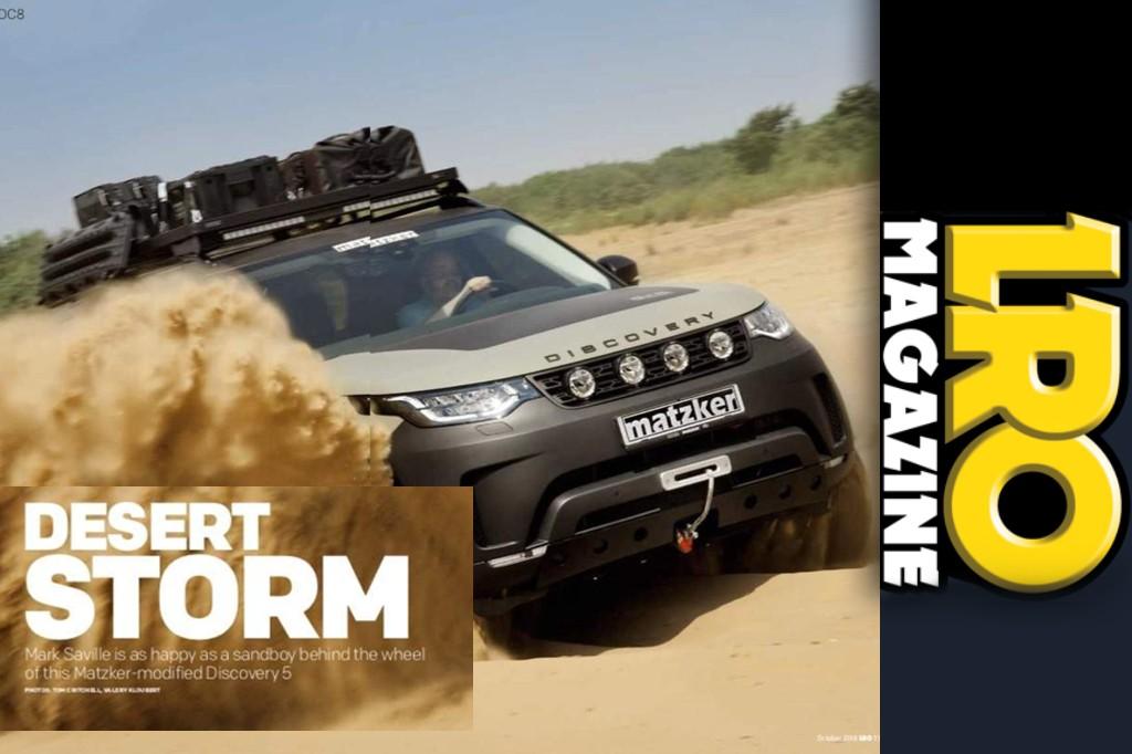 Land Rover Owner: Desert storm