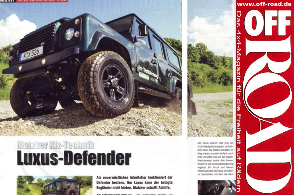 Off Road: Luxus Defender