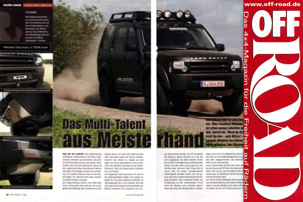 Off Road: Das Multitalent aus Meisterhand