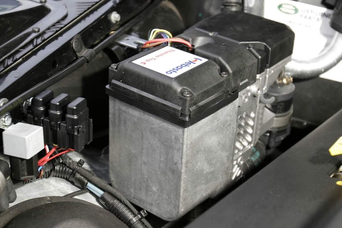Standheizung, Einbausatz Motorvorwärmanlage – Range Rover Classic