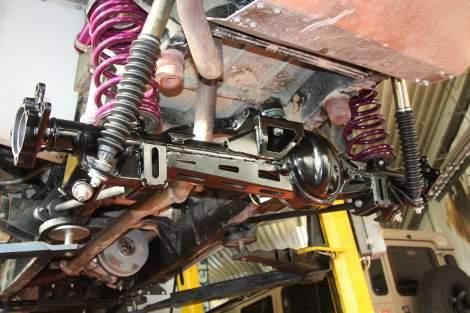 Trockeneisbehandlung – Range Rover Classic