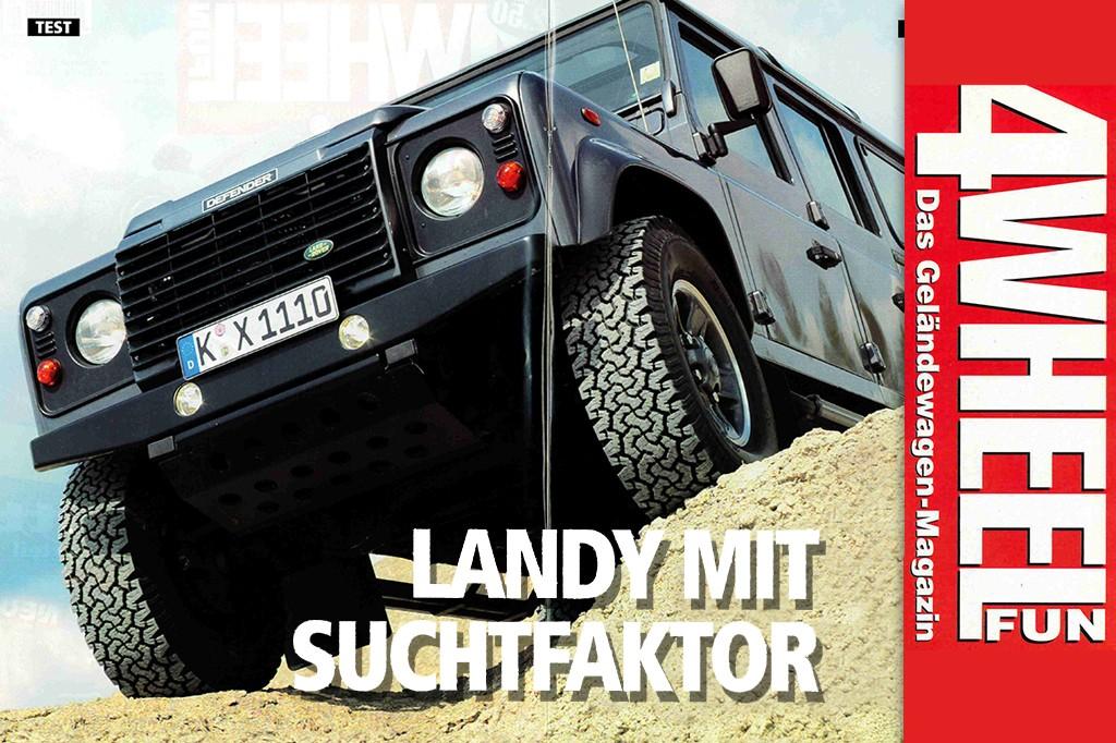 4WEEL FUN Sonderdruck: Landy mit Suchtfaktor