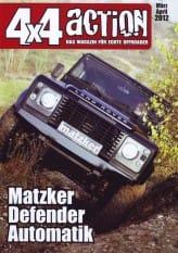 Automatikgetriebe-Umbau – Defender
